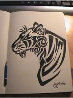 Tigre tattoo by Dark-Unicor