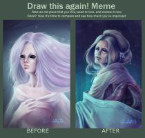 Draw This Again Meme by HelenKei