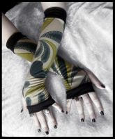 Forest Bohemian Arm Warmers by ZenAndCoffee