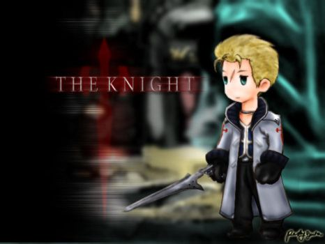 The Knight - FFIII Style by dcposse