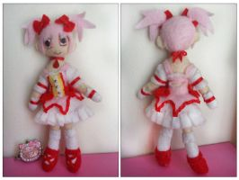 Madoka Plush (FOR SALE) by CocoaSama