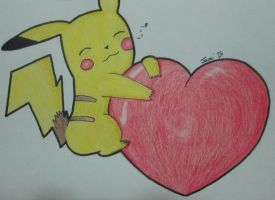 pika pika heart by thejamiu