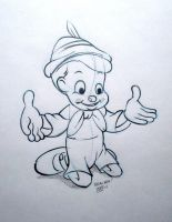 Disney's Pinocchio by steveabbo