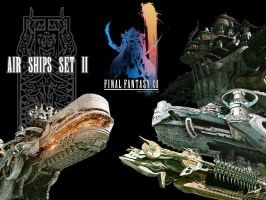 Final Fantasy XII Air Ships II by The-Lonely-Wolf