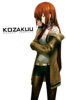 Kurisu Makise Render 4 by Kozakuu