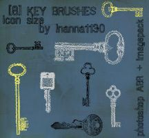 key brushes by inanna1130