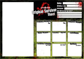 L4D Original Survivor template by Sayael
