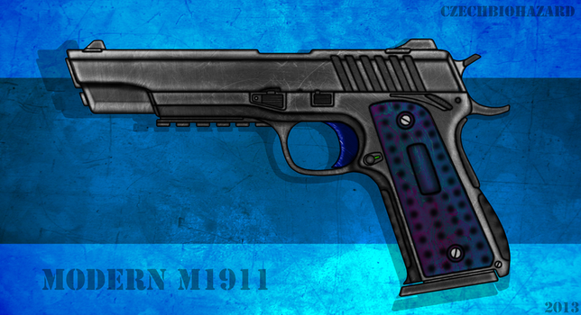 Modern 1911 M1911 by CzechBiohazard