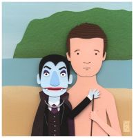 Peter and Dracula by renton1313
