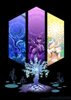 Arcane Princesses by slifertheskydragon