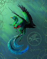 Quetzaldragon by AverrisVis
