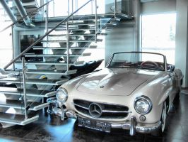 Mercedesl 300Sl by smudlinka66