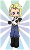 +Kiriban:Android18+ by Crissey