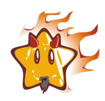 flash - mario star v2 by abomb-in-nation