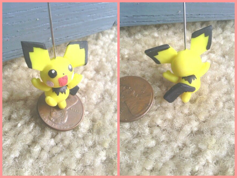 Little Pichu by thedorris