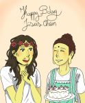 happy bday jisus chan by XERISTAR