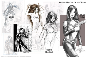 Natsumi Progression Sheet by sykoeent