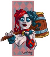 Harley Quinn New 52 by LordWilhelm