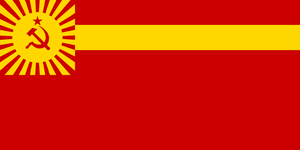 Flag of Japanese Soviet Socialist Republic by zeppelin4ever