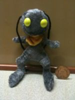 Kingdom Hearts: OC Zeak Heartless Plushie by Jack-O-AllTrades