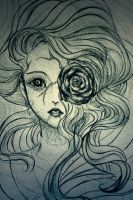 The abandoned Doll - Sketch by CloverKane