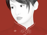 Chinese girl by Tetras