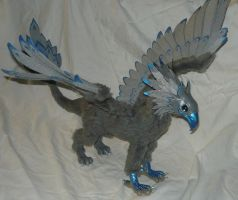 StormEdge Gryphon I - OOAK Posable doll by Ganjamira