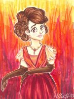 Lady Mary Crawley by LimpingGnome