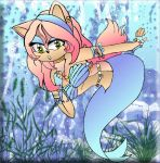 Amy the mermaid colored (17/100ThemeChallenge) by Beautiful-Evanescent