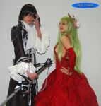 Lelouch and C.C. cosplay by arthemis92