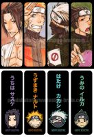naruto - bookmark1 by pandabaka