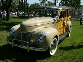 1940 Ford Woody by RoadTripDog