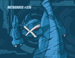 Metagross by Capitan-Mark-Antony