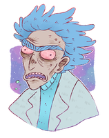cosmic rick by DoctorPed