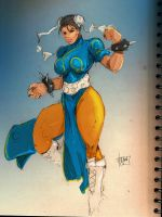 Chun li Sketch by R3belli0n