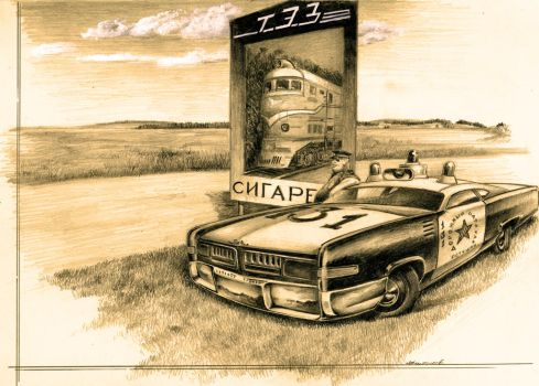 Zil-131 Soviet Muscle by lnago