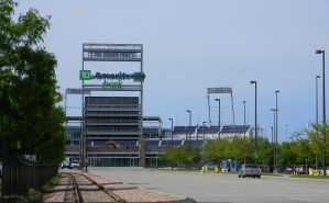 Ameritrade Park Sign by RabidTurtlePhoto