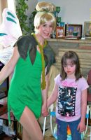 Tinker Bell and her new friend by AriadneEvans