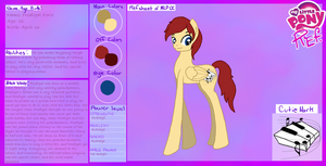 Prodigal Forte: Ref Sheet by Kell95