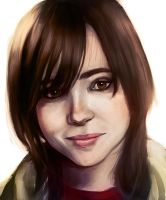 Ellen page portrait by Crowtex-lv