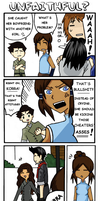 Makorra - 4koma by chromeknickers