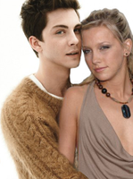 Logan Lerman and Katie Cassidy by junekiddo