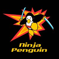 Ninja Penguin by Sideways8Studios