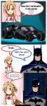 .: Asuna and the Batmobile :. by Sincity2100