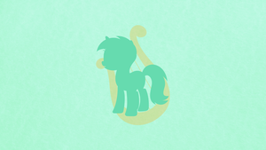 Lyra Heartstrings Minimalist Wallpaper by apertureninja