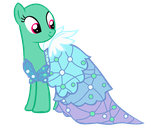 Mlp Base The Princess Dress by TwitterShy