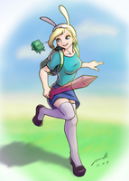 Fionna the human by The-Park