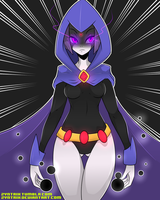 TeenTitans - Raven by Zyntrix
