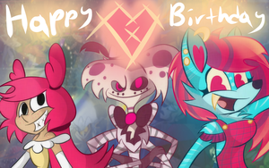 Happy Birthday Vivziepop 2015 by Geno-Dimentio
