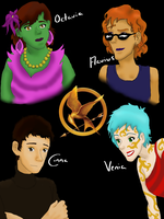Hunger Games - The Prep Team by TreesONature777